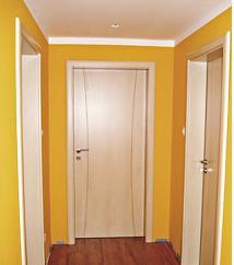 Dveře s frézkou