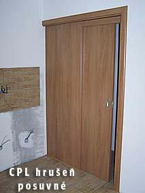 Posuvné  dveře 3